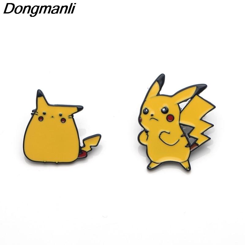 P3356 Wholesale 20pcs lot Cute Metal Enamel Pins and Brooches for Women Men Lapel Pin backpack