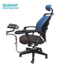 Multifunctional Full Motion Chair Clamping Keyboard/Laptop Desk Holder+Chair Arm Mouse Pad OK010
