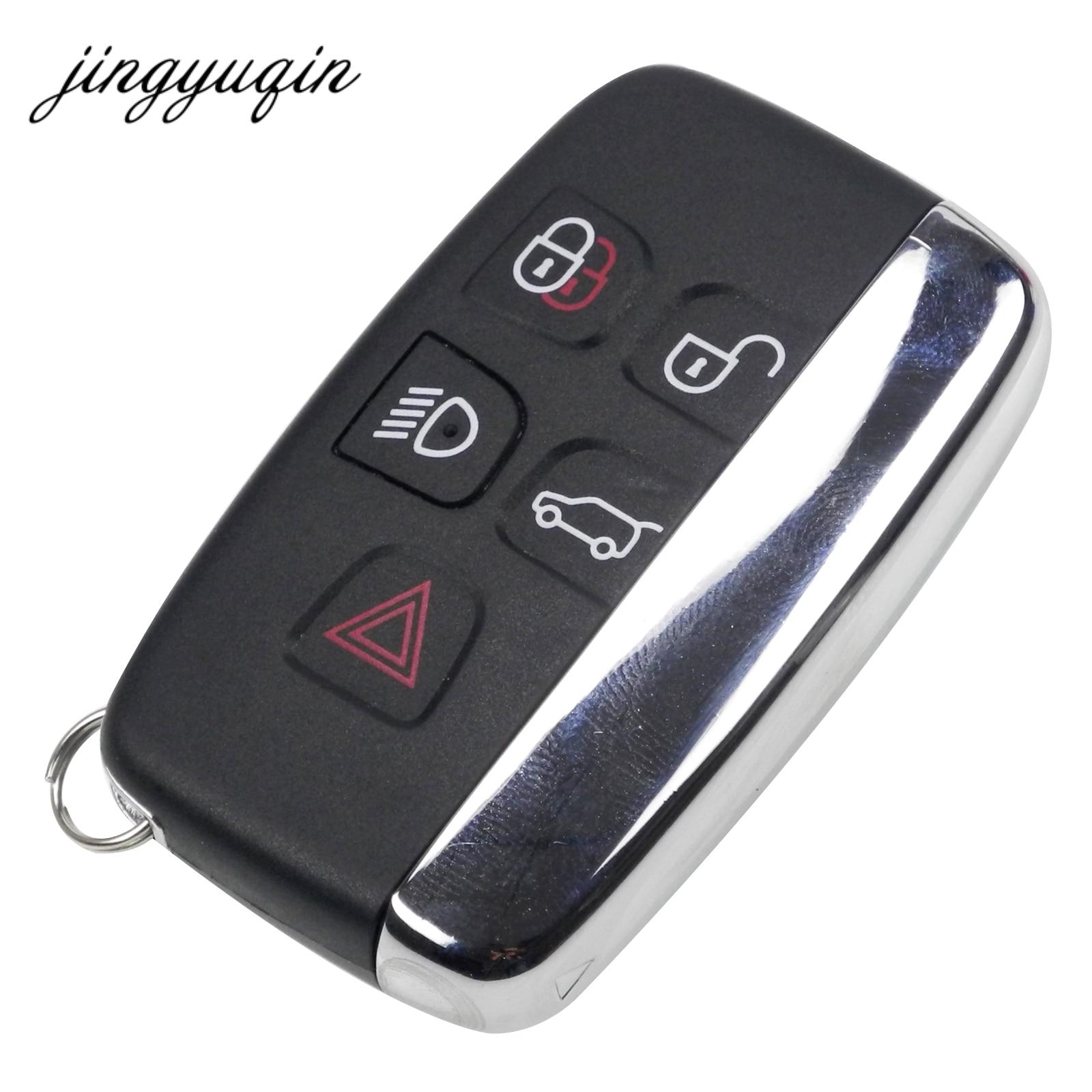 jingyuqin Keys Shell For Land Rover Ranger Rover Evoque Discovery 4 Freelander Evoque For Jaguar XE XFL et Remote Key Case