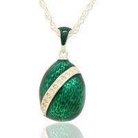 Thích hợp cho tất cả các thương hiệu làm bằng tay xanh glaze Easter egg mặt dây chuyền vòng cổ của phụ nữ quà tặng đồ trang sức