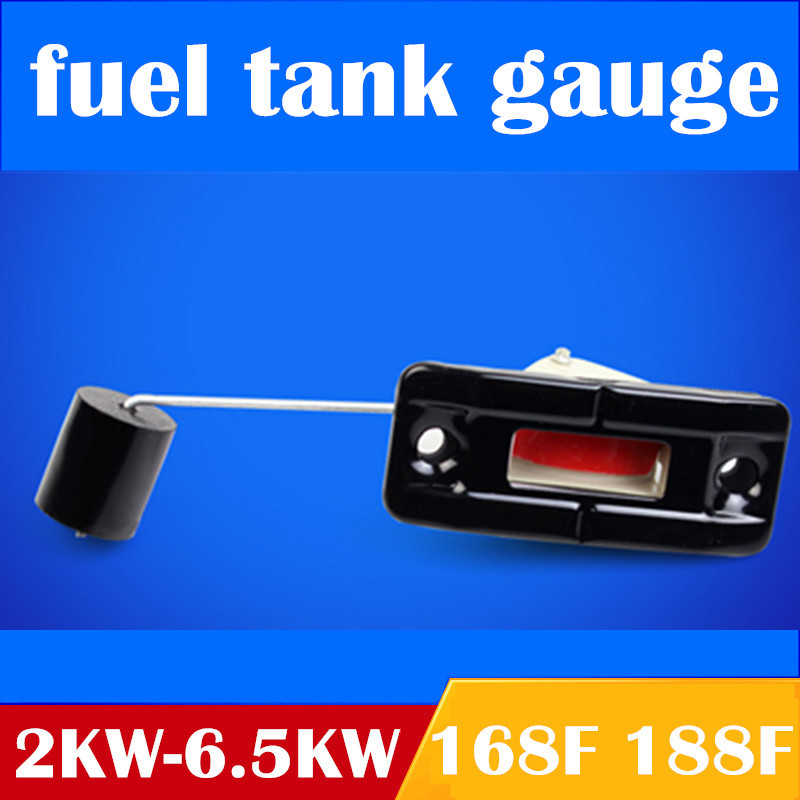 2pcs generator fuel level meter for GX160 168F 188F,2KW 5KW fuel meter for China Gasoline generator spare parts fuel tank gauge
