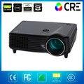 Cine en casa DVD portátil Mini proyector con hdmi av uso de Mini proyector de haz