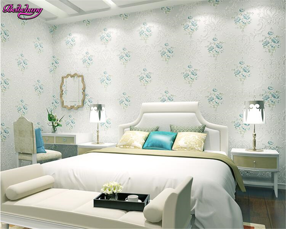 beibehang wallpaper for walls 3 d European pastoral flower gold non woven bedroom living room background wall papel de parede beibehang embossed american pastoral flowers wallpaper roll floral non woven wall paper wallpaper for walls 3 d living room