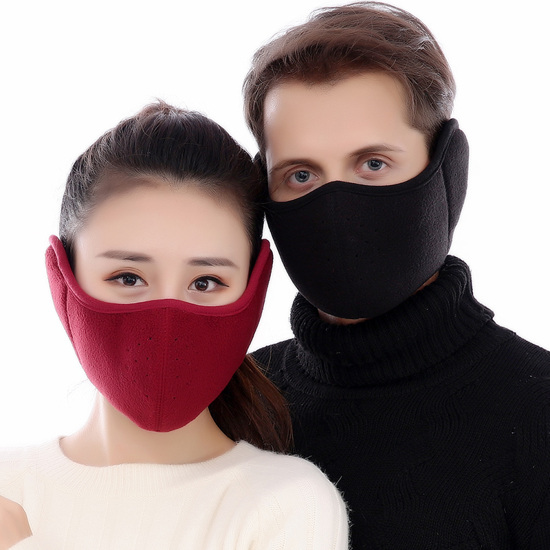 Hot Anti Pollution Mask Dust Respirator Washable Reusable Masks Cotton Unisex Mouth Muffle For Allergy/Asthma/Travel Keep Warm