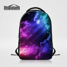 Dispalang Brand Laptop Backpack Men Multifunctional School Bags 3D Lifelike Galaxy Star Print Knapsack Women Travel Bag Mochilas