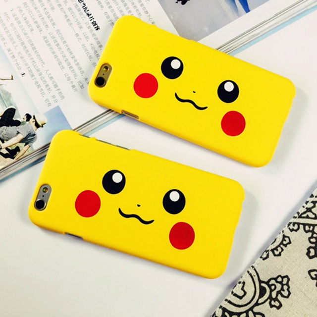 Cute Cartoon Pokemons Phone Case For iPhone 5S 6 6S Plus