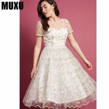 MUXU floral sexy transparent dress patchwork streetwear vestidos women clothing backless embroidery loose kleider fashion