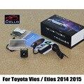 Para Toyota Vios/Etios 2014 2015/Laser de Chuva Anti-Colisão luz/Mau Tempo Acidente Auto Luzes de Advertência/Cauda Aviso lâmpada
