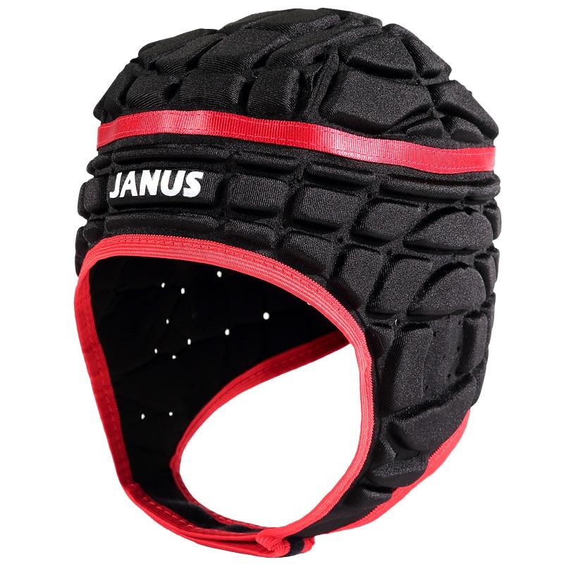 2018 Pressional Men Football Soccer Goalkeeper Helmet Sports Rugby Scrum Cap Headguard Goalie Roller Hat Head Protector Helmet