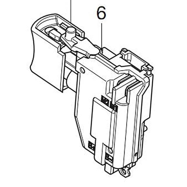 Genuine Switch For Makita 650753 7 Ddf482rme Ddf482 Ddf482z