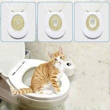 Cat Toilet Training Seat Litter Tray Professional Pet Litter Cleaning Litter Lavatory Box Cats Training Cat-toilet-training-kit