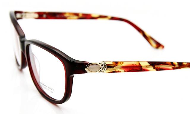 Nueva moda Rhinestone del grado montura mujeres marco óptico gafas de lujo de calidad superior marcos de las lentes 332