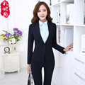 Pantalones Mujer Formal Pant Suits For Women Wholesale Uniforms Overalls Thick Fashion Slim Blazer Feminina Womens 3 Piece Suit