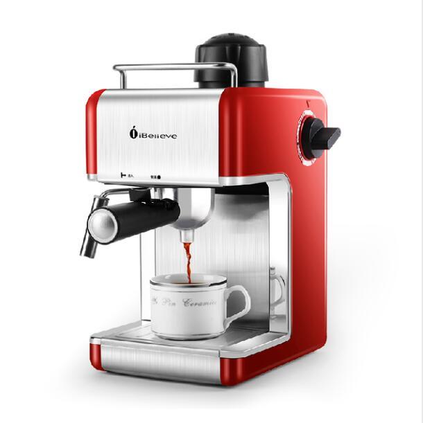 Coffe Maker Semi automatic High Pressure Steam Espresso Coffee Machine With Professional Pump For family