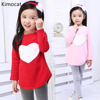 2017 New 3PCS LOVE SET 1pc Hair Band 1pc Shirts 1pc Pants Children S Clothing Set