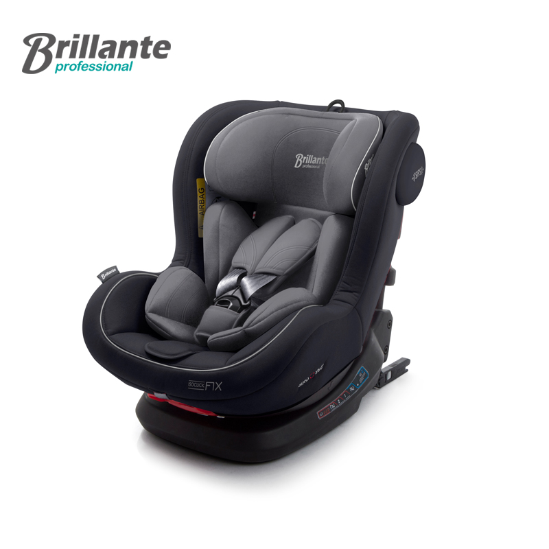 Brillante Child Car Safety Seat Baby Car Boost Seat Safety Chair Universal Sit and Lie Isofix Five-point Harness for Kids factory direct sales multifunctional baby child car safety seat kids adjustable removable five point harness chair seat 9 m 12 y