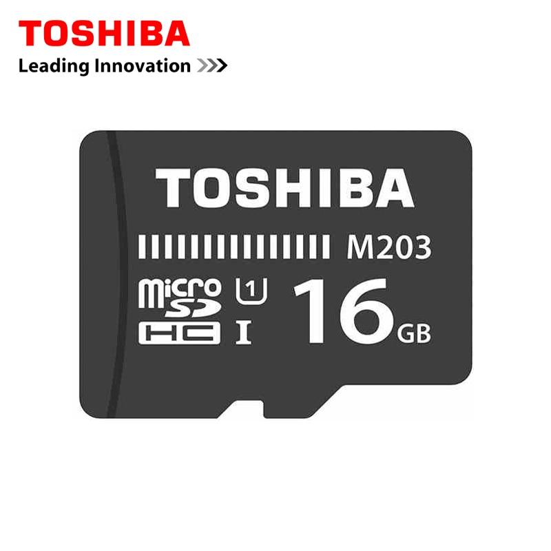 Galleria fotografica <font><b>Toshiba</b></font> Scheda di Memoria Micro SD Card 16 GB Class10 UHS-U1 SDHC U1 Flash di Memoria Microsd per Smartphone/Tavolo non ha scatola