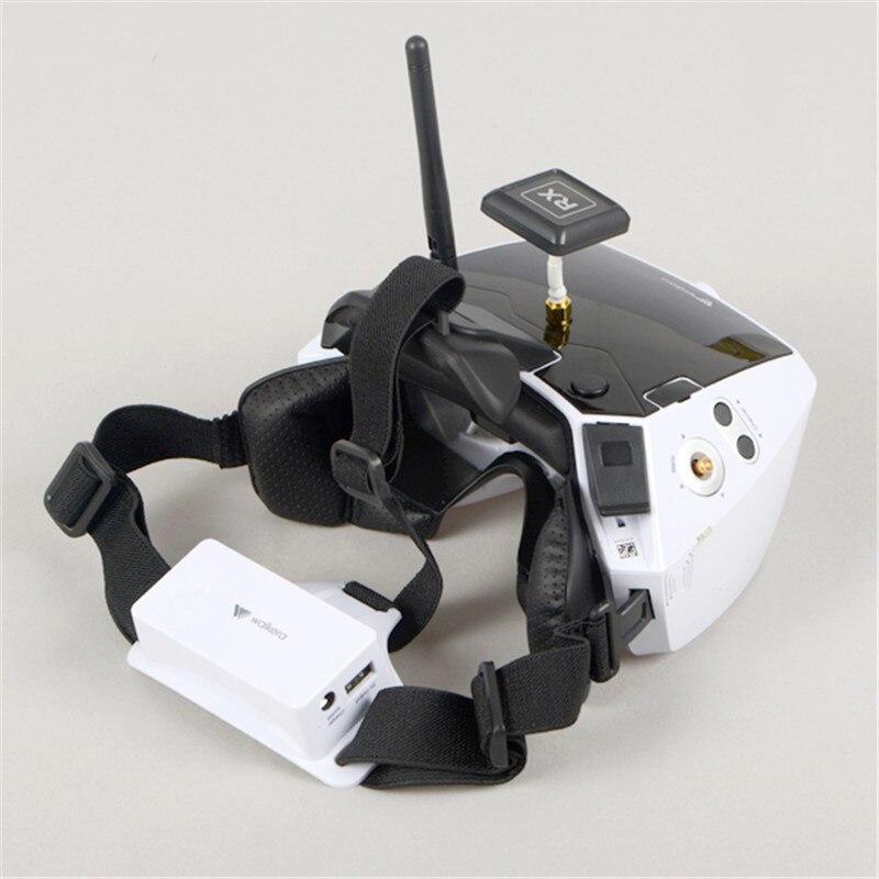"""Walkera 고글 4 fpv 가상 현실 안경 5 """"hd 대형 스크린 레이싱 무인 항공기 3d 안경 듀얼 안테나-에서부품 & 액세서리부터 완구 & 취미 의  그룹 2"""