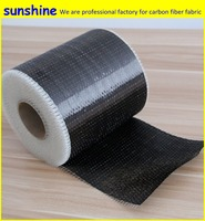 12k 300gsm UD Carbon Fiber Fabric Unidirectional Carbon Fiber Cloth