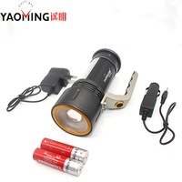 Hand lamp high power searchlight Cree Q5 3 Mode cree led flashlight linternas lantern rechargeable hand light lamp 18650 battery