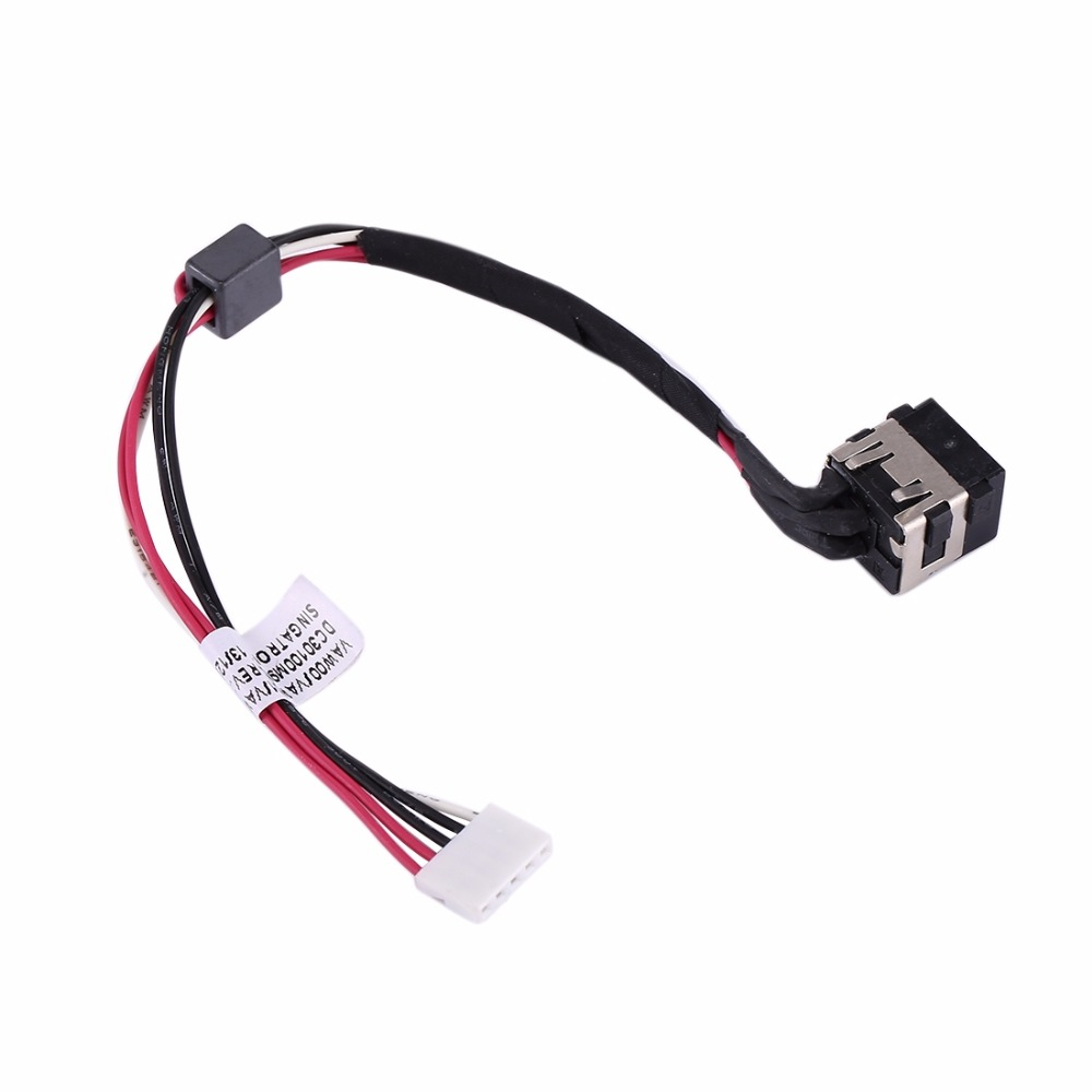 N DC Power Jack Connector Flex Cable For Dell Inspiron 15 / 3521 / 3537 & 15R / 5521 / 5537 & 17R / 5721