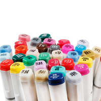 NEW TouchNew Double Head Artist Soluble Colored Sketch Brush Pen Set Drawing Design Paints Art Marker pen Affordable