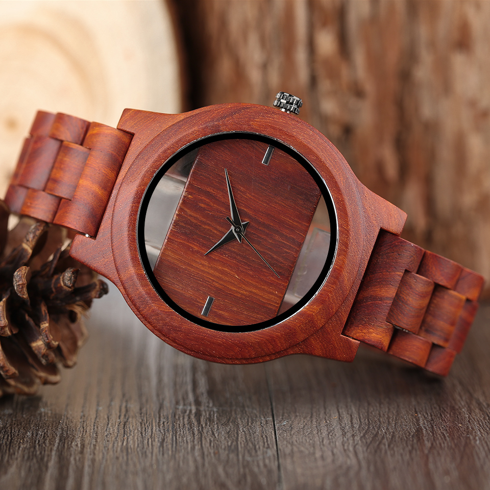 YISUYA Creative Men Hollow Bamboo Wooden Watches Fashion Watches Unique Handmade Wood Wristwatch Sport 17 New Women Relogio 10