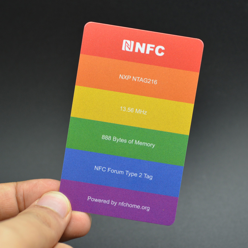 NFC Business Card NFC Tag Ntag216 Chip universal for all NFC ...