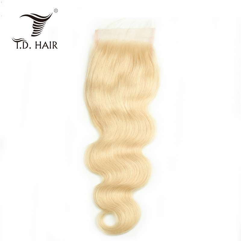 Unprocessed Raw Hair Extension Wholesale Vendors Brazilian Body Wave Hair 4*4closure 613#