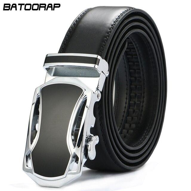 2019 de los hombres de moda de cuero genuino cinturones para hombres alta  calidad automática de 62c0aceb724d