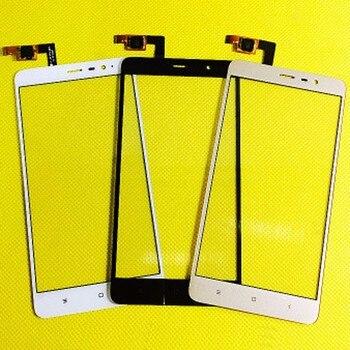 Nuevo Teléfono Móvil Touch Sensor Panel frontal lente de cristal para Xiaomi rojo Mi Note3 RedMi Note 3 pro digitalizador de pantalla táctil