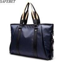 SAFEBET Brand 2017 High Quality Waterproof Nylon Men S Handbag Men Briefcase Shoulder Bags Travel Bags