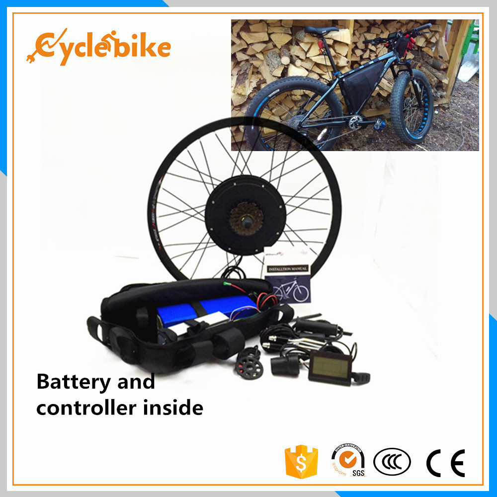 Free shippingkm h max electric bike kit v w Ebike wheel conversion