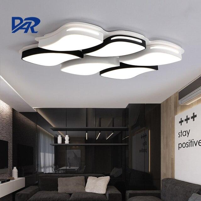 2017 Aufbau Moderne Led Deckenleuchten Für Wohnzimmer Leuchte  Innenbeleuchtung Glanz Plafon Luminaria Led Lampen