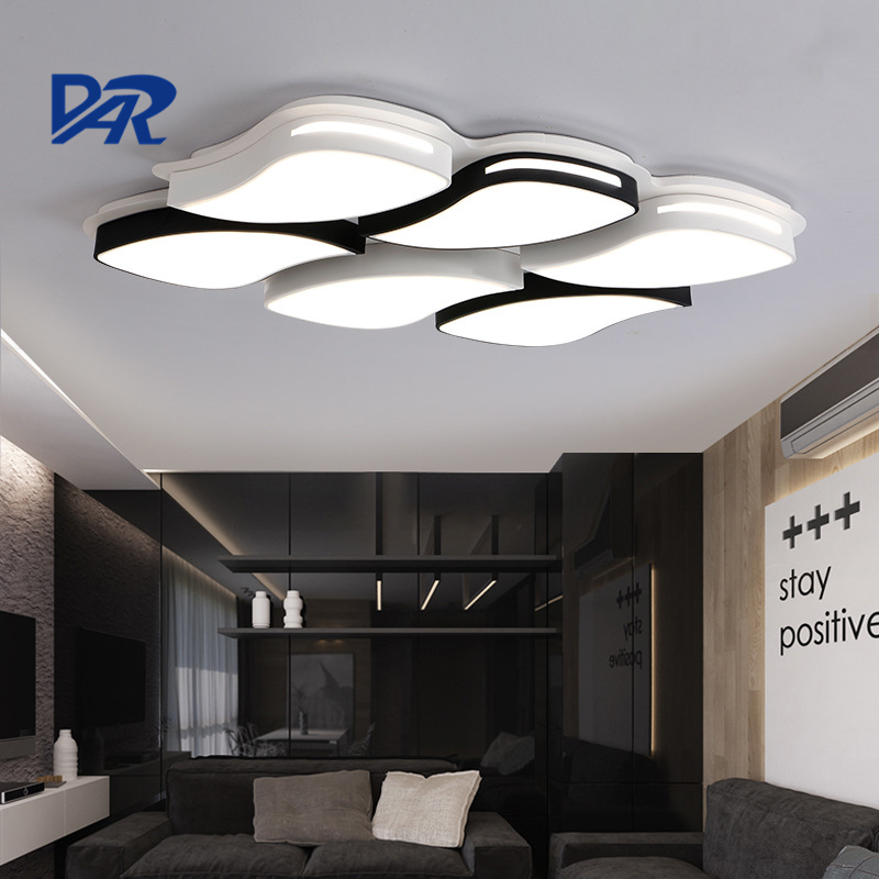 New Design 2 4 6 Heads Iron Ceiling Lamp 12W 24W 36W Modern Led Ceiling Lights