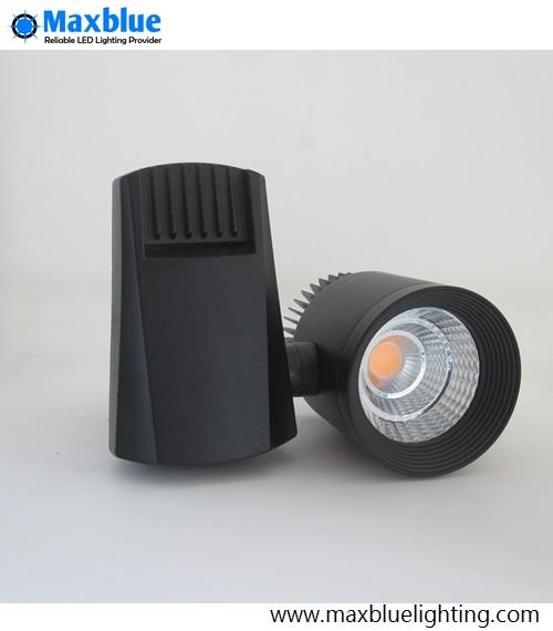 100LM/W LED Track Lighting 30W CREE COB 230V 240V LED Rail Ceiling Spotlight Track Lamp for Small Narrow Space as LED Shop Light