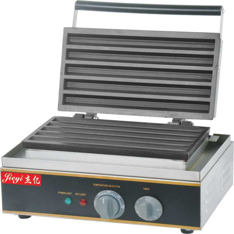 1.5KW 220V Commercial Economic type Hot Dog Stick Machine Five Grid Fritters economic methodology
