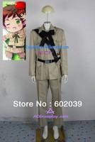 Hetalia Axis Powers Spain Antonio Fernandez Carriedo Cosplay Costume include belts ACGcosplay