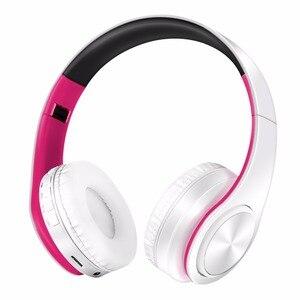 Image 5 - Yeni stereo kulaklık bluetooth kulaklık kulaklık kablosuz bluetooth handfree evrensel tüm telefon için iphone için mikrofon ile