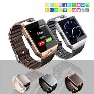 Новые дизайнерские умные часы DZ09, цифровые наручные часы с Bluetooth, электроника, SIM-карта, спортивные Смарт-часы для IPhone, Samsung, Android