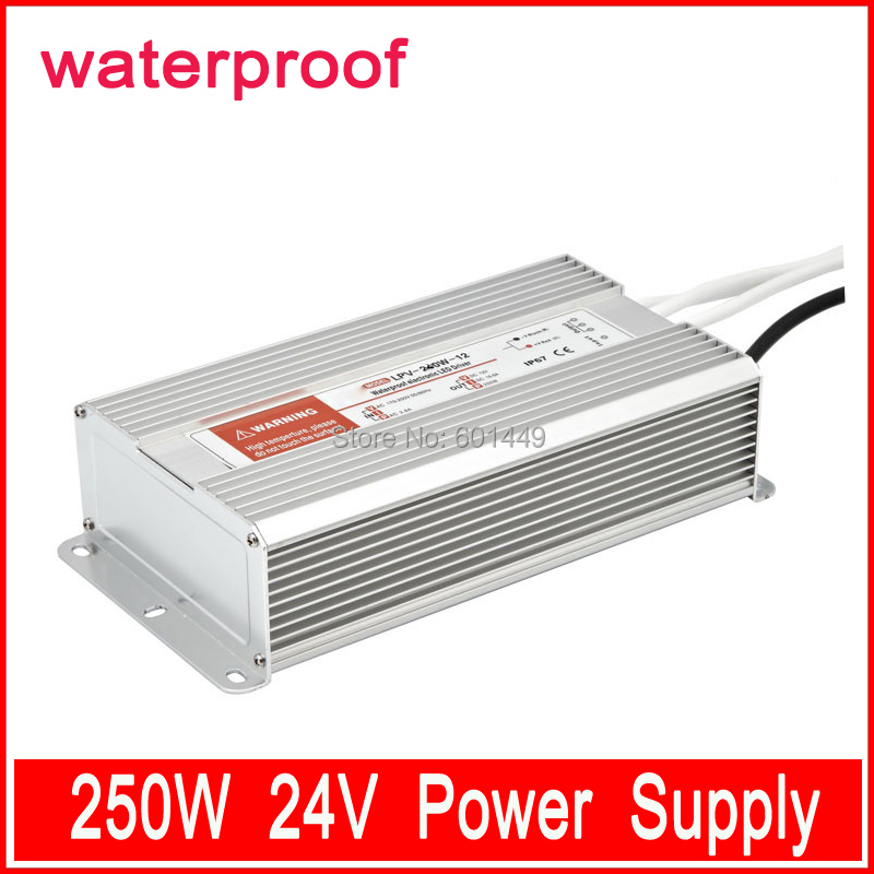Factory direct> Electrical Equipment & Supplies> Power Supplies> Switching Power Supply>  LED Wateproof Series >LPV-250W-24V