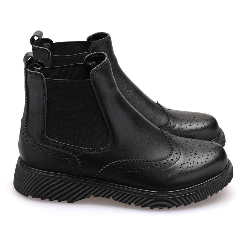 Hiver Leather De Élastique Bottes Cheville Pour Mezereon Cuir Véritable Plus Designer Mode Chaussures 41 En Taille Patent Bande soft Femme La Femmes Leather nw0mNv8O