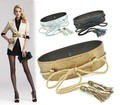 Woman Brand Snake Rope Tie Faux Leather Belts for Women 6cm No Button Corset Celebrity Cummerbund Tassel Belt 5 color