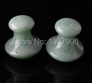 white jade massage stone