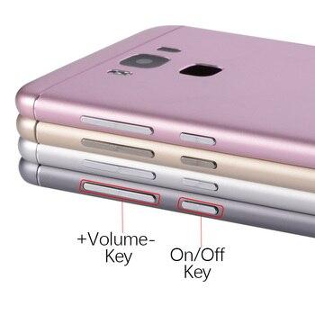 Задняя крышка для ASUS Zenfone 3 Max ZC553KL Оригинал на батарею золотой