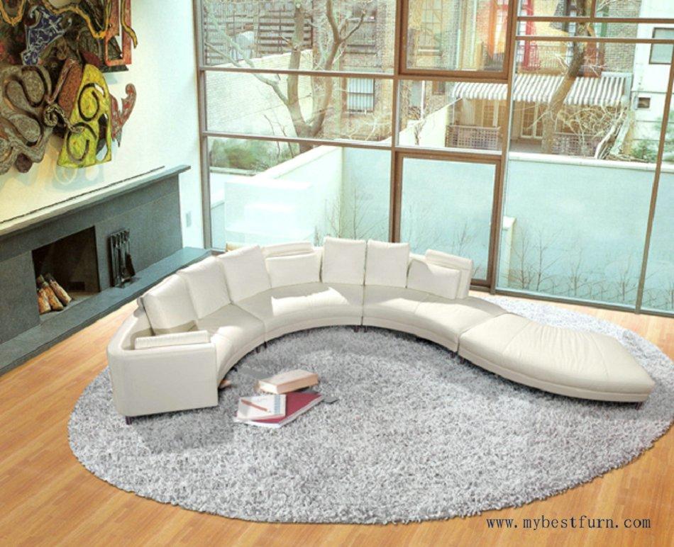 Приятно роскошные вилла диван набор топ leaher диван потока воды дизайн диваном Лидер продаж модели для Гостиная дом Мебель диван