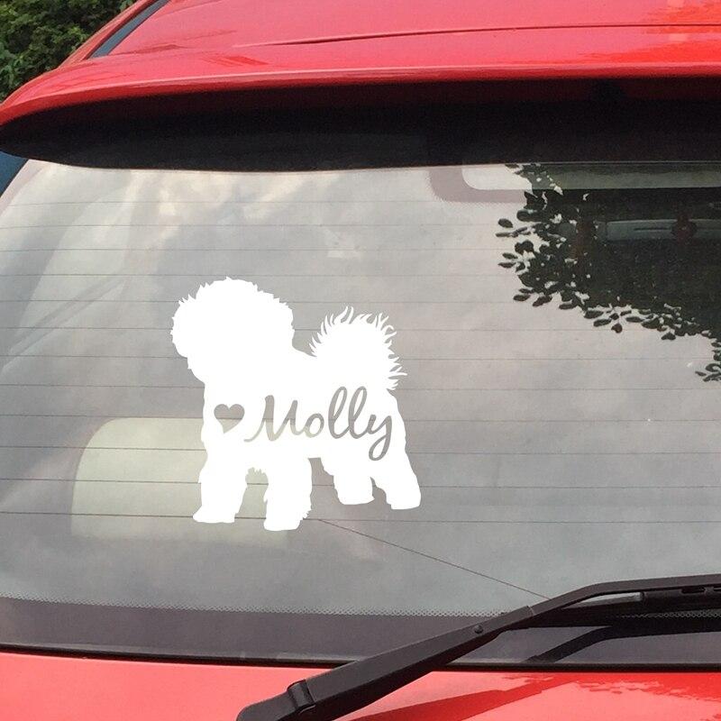 Bichon Frise Car Sticker