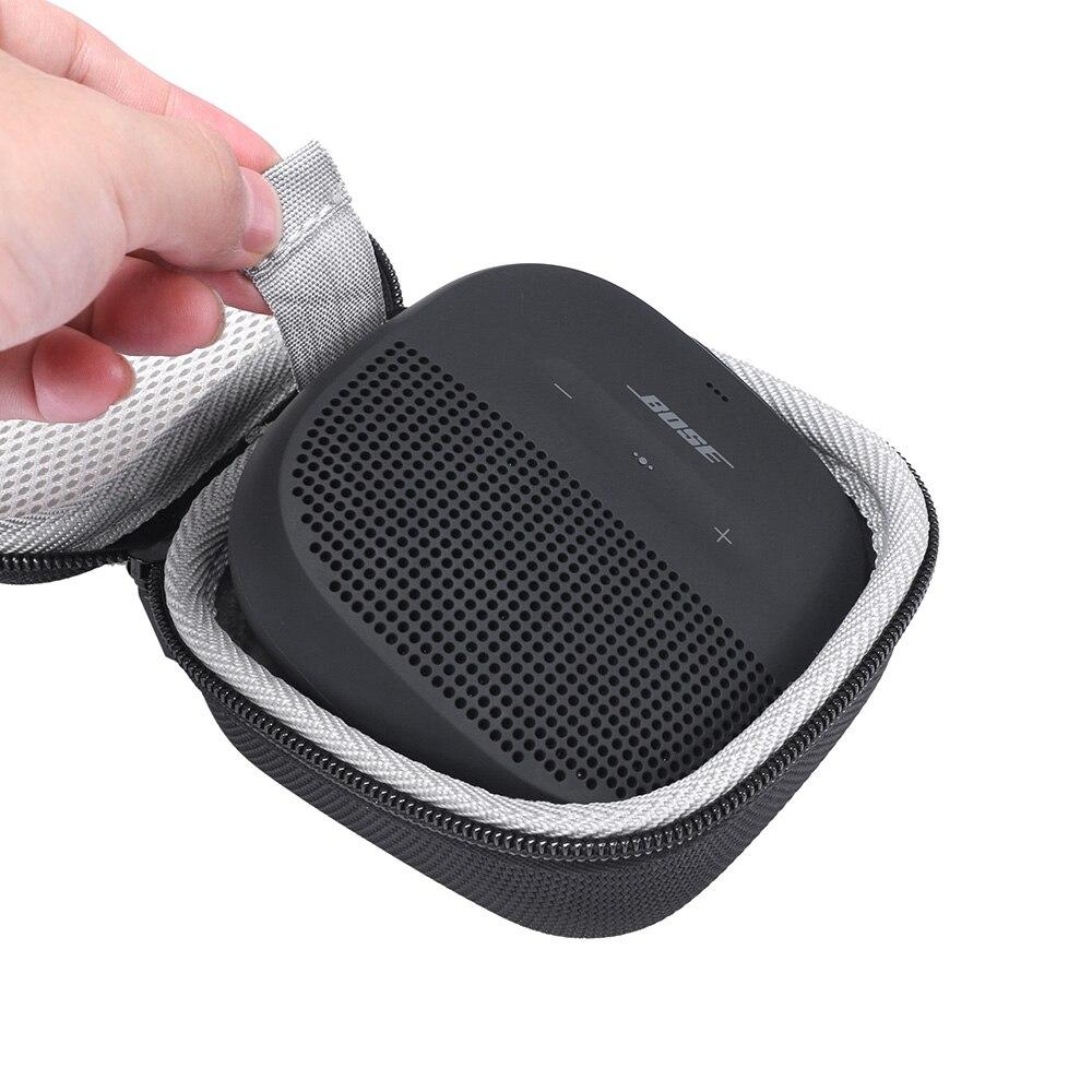 Estuche r/ígido de Transporte con Soporte para Bose SoundLink Micro Altavoz Bluetooth Se Adapta a Cable USB y Otros Accesorios Negro