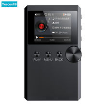 Yescool S5 Lossless hifi stereo lecteur music MP3 player Mini Sports walkman 128G TF Audiophile flac DSD Full format decoding(China)
