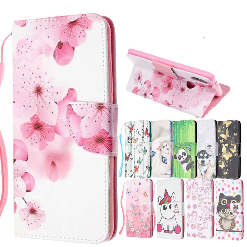 <font><b>Redmi</b></font> Note 7 Patterned Flip PU <font><b>Leather</b></font> Wallet <font><b>Phone</b></font> <font><b>Case</b></font> Cover on sfor <font><b>Xiaomi</b></font> Mi 8 Lite A1 A2 <font><b>Redmi</b></font> <font><b>6A</b></font> 4X 4A Note 5 6 Pro Coque image